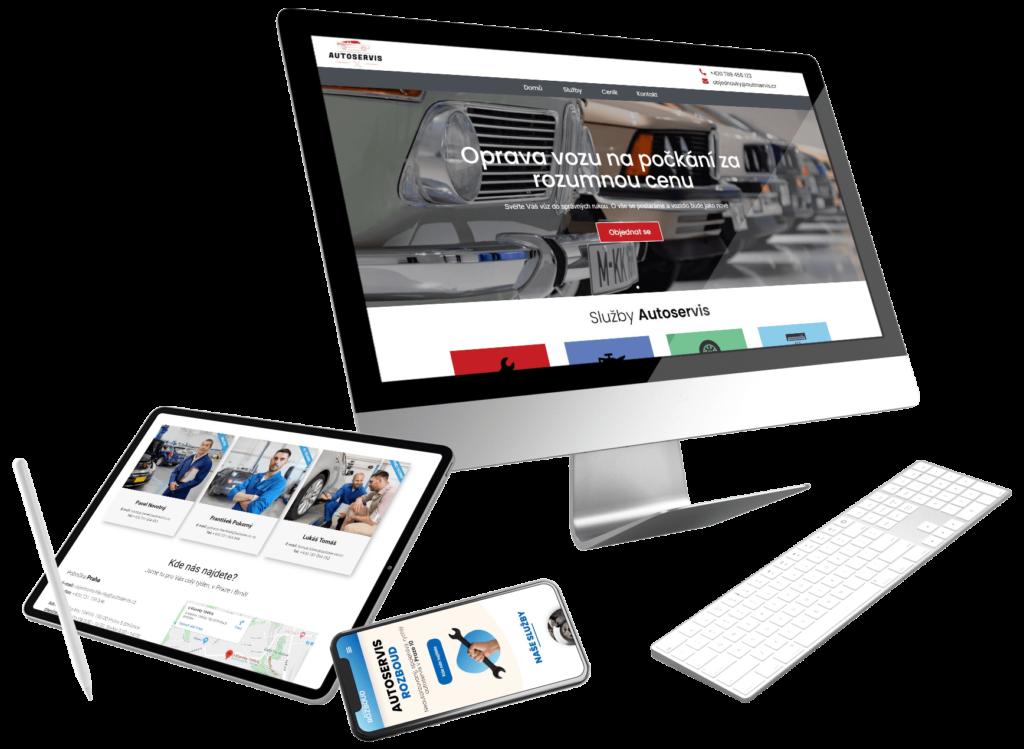 Webové stránky pro malou firmu